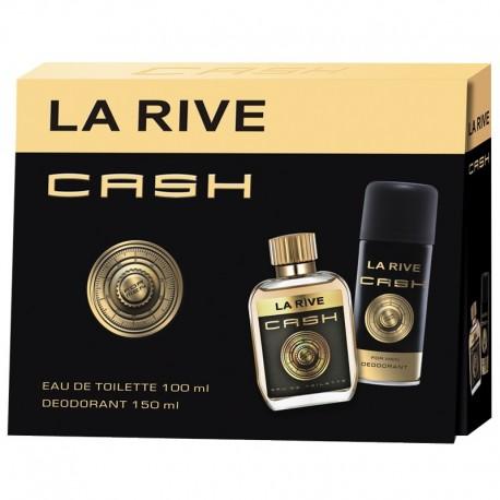 Set La Rive  Cash man apa de toaleta + deodorant