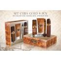 Set cadou Cuba Gold 4 Piese