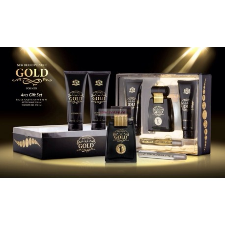 Set cadou Gold 4 piese for men