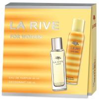 Set La Rive woman apa de parfum + deodorant